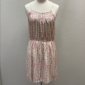 NWT Collective Concepts cream floral dress size S